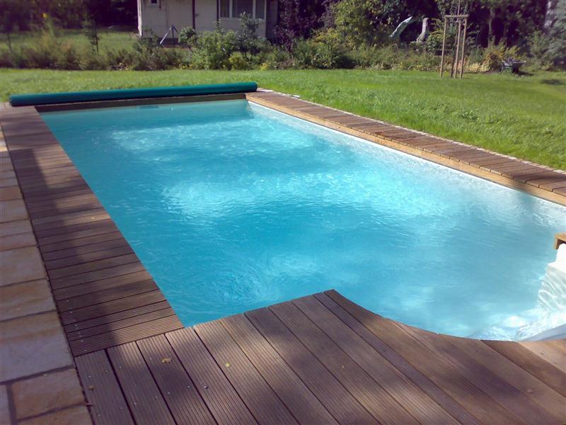pool set p40 4x8m 0 8 f r m treppe swimmingpool. Black Bedroom Furniture Sets. Home Design Ideas