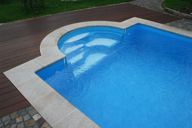 pool set p40 4x8m 0 8 f r m treppe swimmingpool rechteck styroporbecken ebay. Black Bedroom Furniture Sets. Home Design Ideas