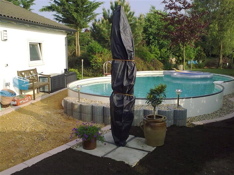 Schwimmbecken achtform becken swimmingpool poolset acht for Stahlwandbecken achtform