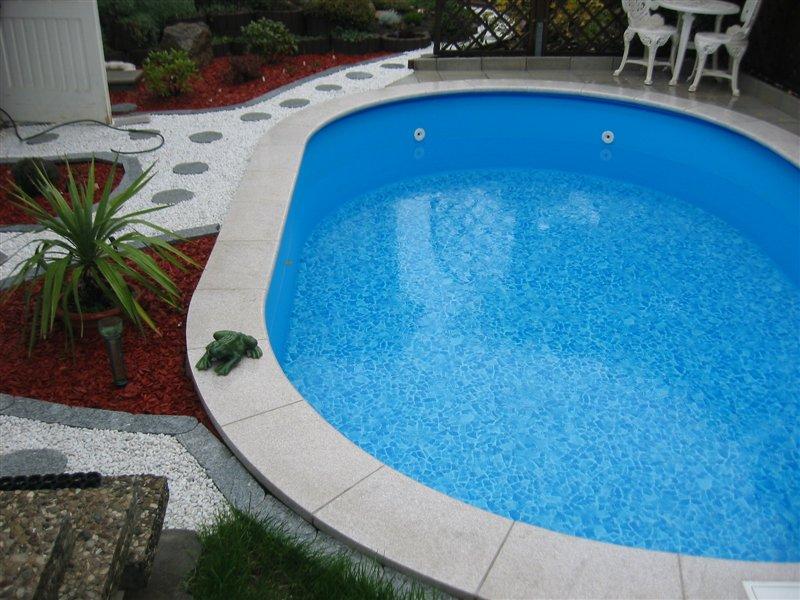 pool set oval komplett schwimmbecken filteranlage leiter. Black Bedroom Furniture Sets. Home Design Ideas
