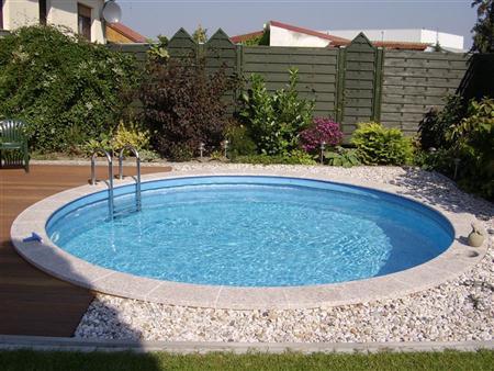 Swimmingpool pool set rund 3m x 1 20m 0 6 folie for Folie pool rund